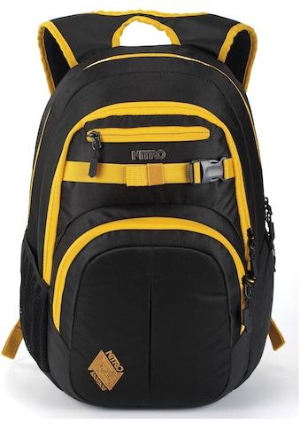 NITRO Schulrucksack »Chase, Golden Black« kaufen