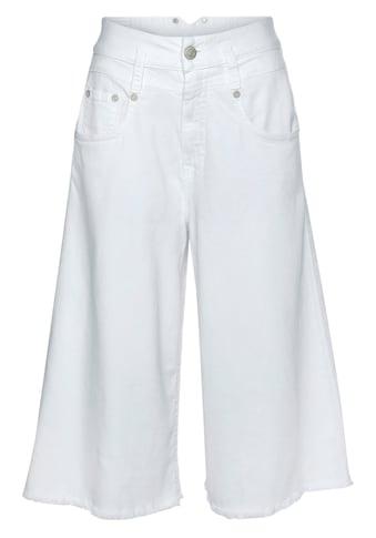 Herrlicher Mom-Jeans »PITCH MOM GAUCHO«, in Hosenrock-Optik kaufen