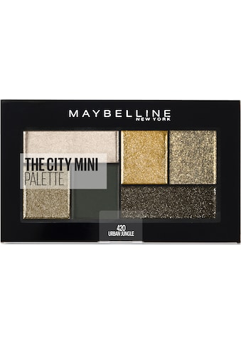 MAYBELLINE NEW YORK Lidschatten-Palette »The City Mini«, 420 Urban Jungle kaufen