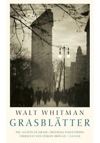 Buch »Grasblätter / Walt Whitman, Jürgen Brôcan« kaufen