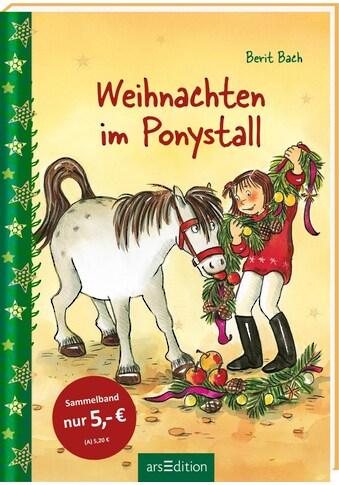 Buch »Weihnachten im Ponystall / Dorothea Tust, Berit Bach« kaufen