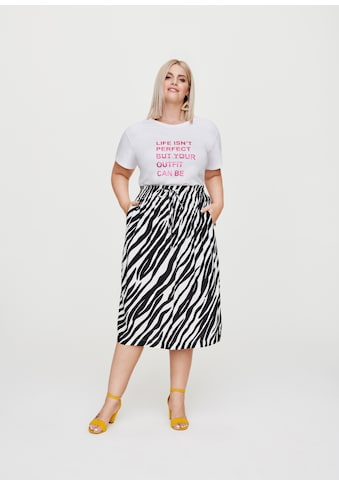 Rock Your Curves by Angelina K. Statement-Print T-Shirt Perfect kaufen