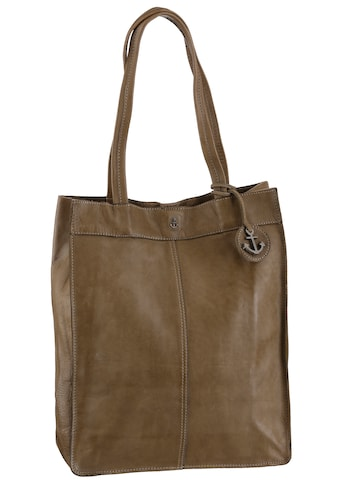 HARBOUR 2nd Shopper »B3-6595 al-Elbe 1«, aus Leder mit typischen Marken-Anker-Label und Schmuckanhänger kaufen