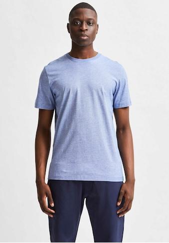 SELECTED HOMME T-Shirt »SLHNORMAN180 MINI STRIPE TEE« kaufen