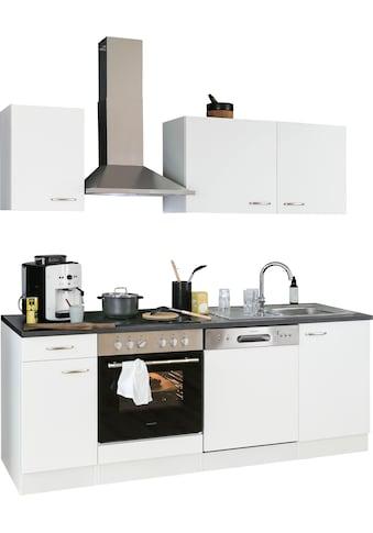 OPTIFIT Küchenzeile »Parare«, 210 bzw. 270 cm mit Hanseatic E - Geräten, wahlweise mit oder ohne Kühlschrank kaufen