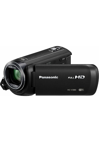 Panasonic »HC - V380EG - K« Camcorder (Full HD, WLAN (Wi - Fi), 50x opt. Zoom) kaufen