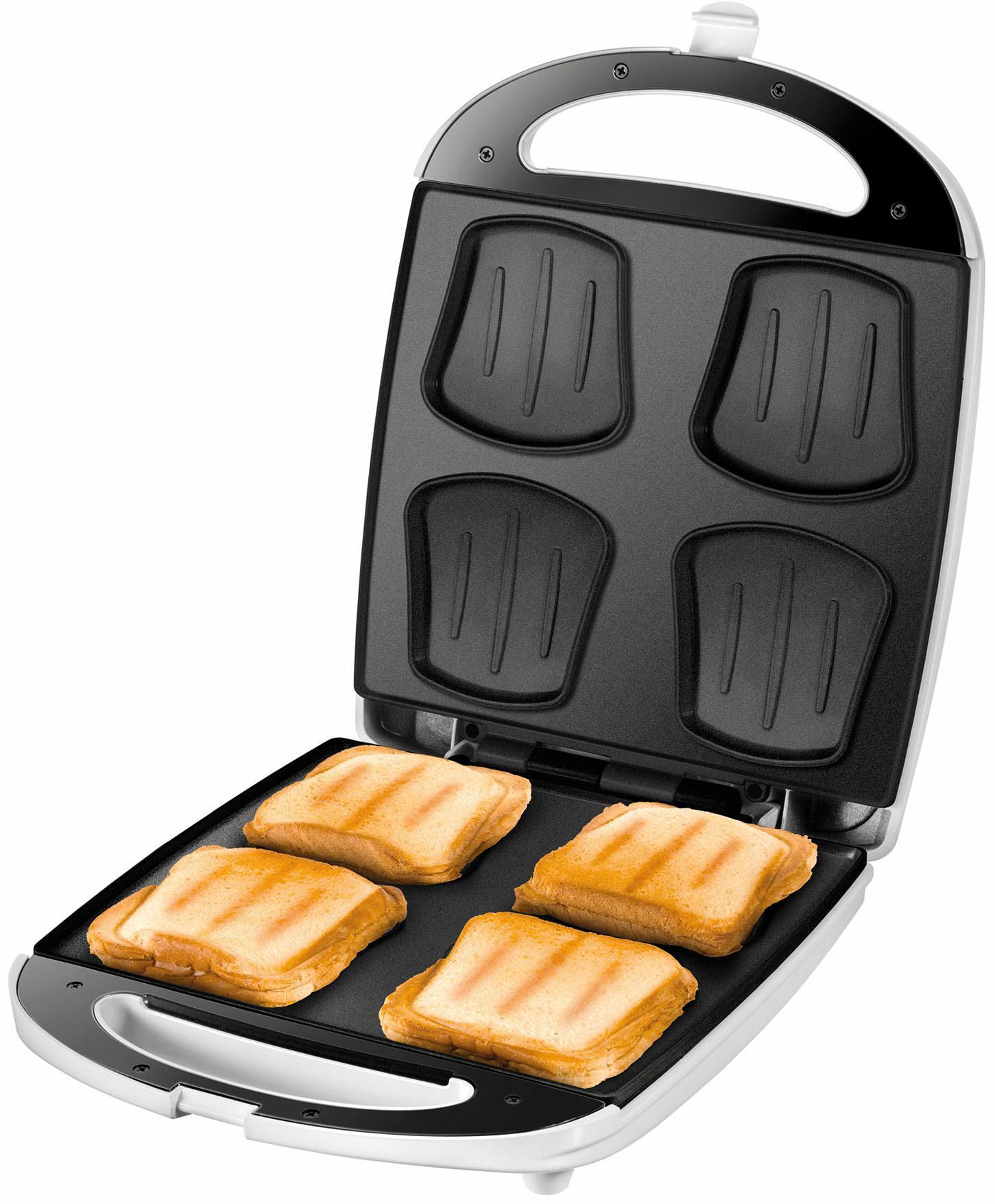 Sandwichmaker Quadro 48480, 1100 Watt