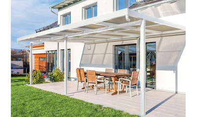 GUTTA Terrassendach »Premium«, BxT: 611x406 cm, Dach Acryl bronce kaufen
