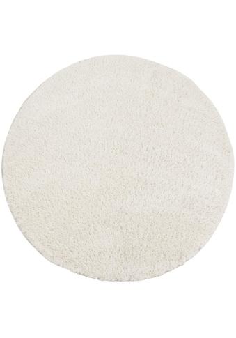 Carpet City Hochflor-Teppich »Softshine 2236«, rund, 30 mm Höhe, besonders weich durch... kaufen