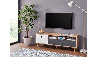 Homexperts TV-Board »Bristol«, Breite 150 cm, mit massiven Eichefüßen kaufen
