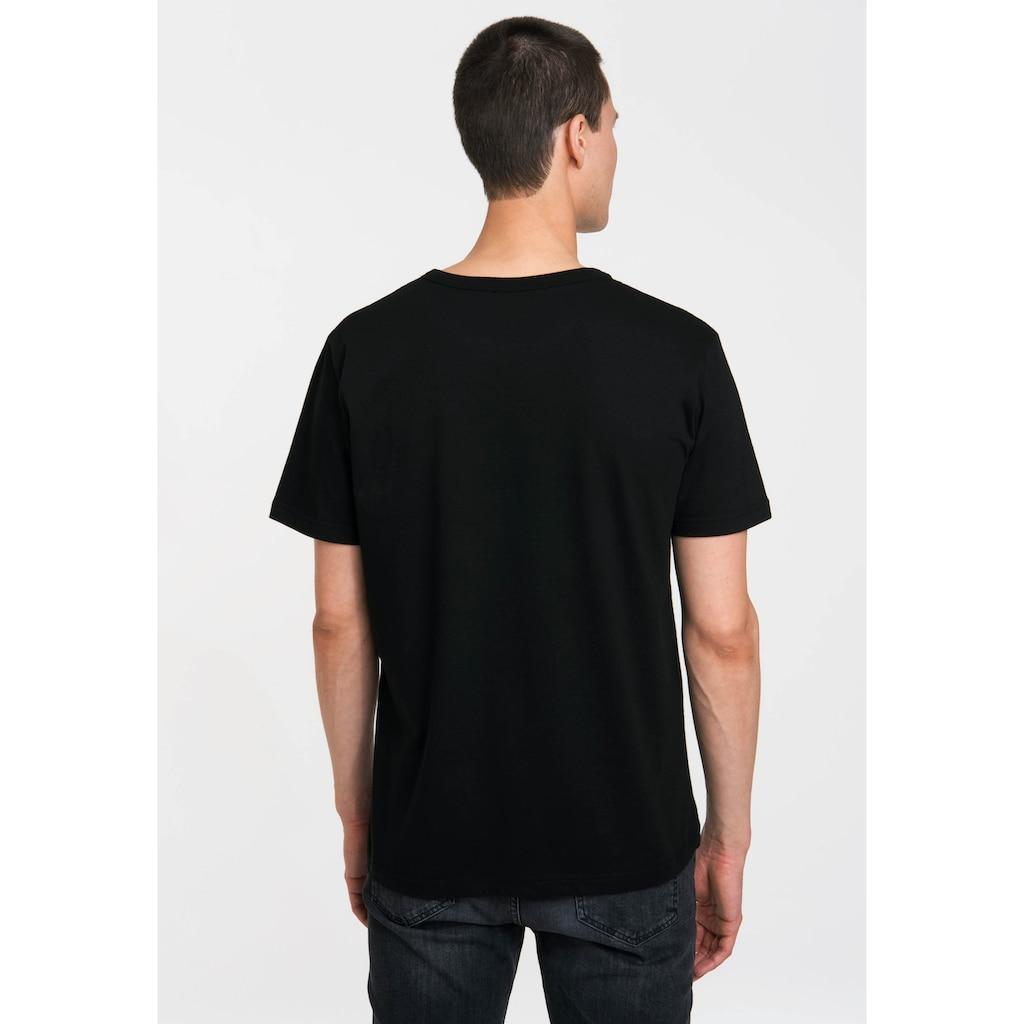 LOGOSHIRT T-Shirt mit coolem Schädel-Print