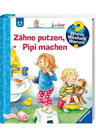 """Ravensburger Buch """"Zähne putzen, Pipi machen  -  Wieso? Weshalb? Warum? Junior"""" kaufen"""