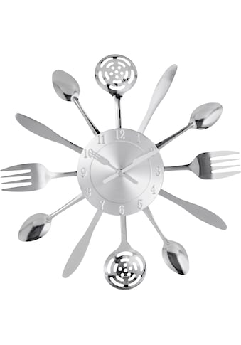 Home affaire Wanduhr »Cutlery« kaufen
