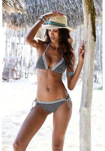 s.Oliver Beachwear Bikini-Hose »Avni«, mit abgesetztem Ziergürtel kaufen