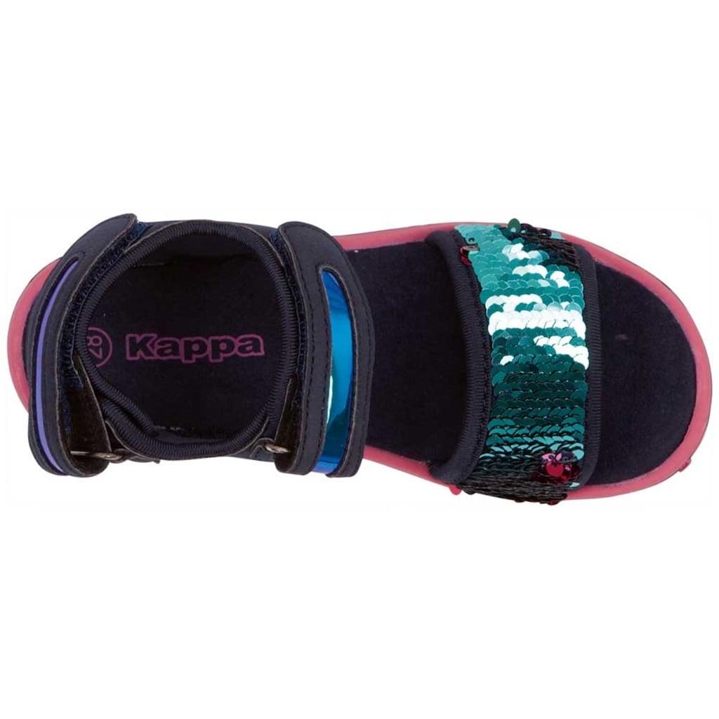 Kappa Sandale »SEAQUEEN KIDS«, mit Wendepailetten<br />