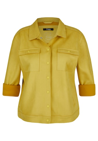 """FRAPP Jeansjacke, """"Golden Yellow"""" mit Druckknöpfen kaufen"""