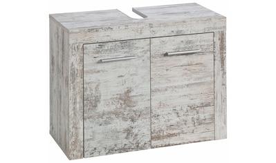 trendteam Waschbeckenunterschrank »CANCUN«, mit Rahmenoptik in Holztönen, Höhe 56 cm kaufen