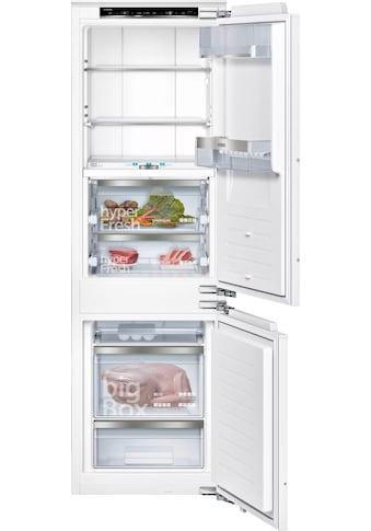 SIEMENS Einbaukühlgefrierkombination »KI84FPDD0«, iQ700 kaufen
