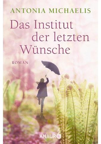 Buch »Das Institut der letzten Wünsche / Antonia Michaelis« kaufen