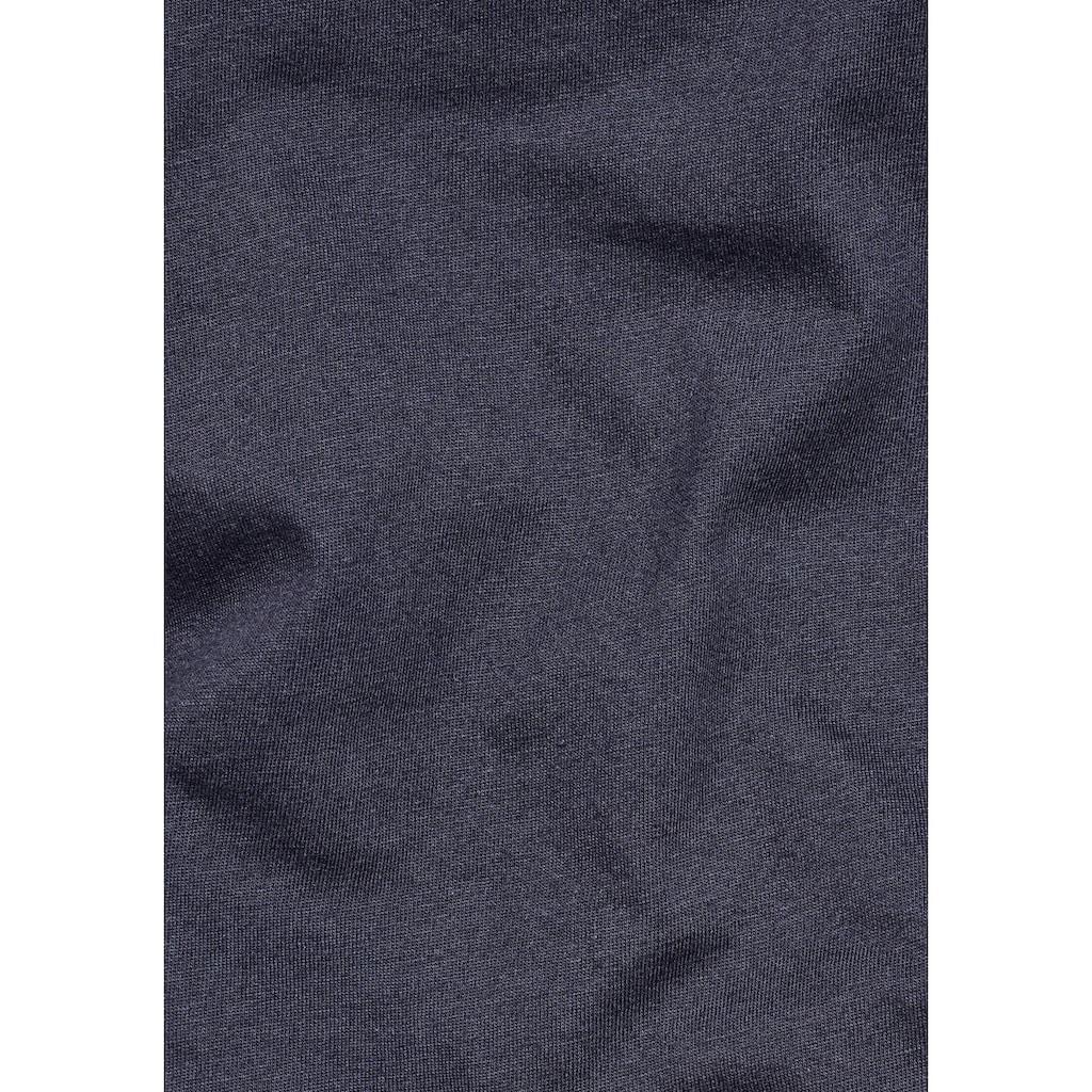 G-Star RAW Rundhalsshirt »Eyben slim r t wmn s/s«, mit kleinem Logo-Frontdruck