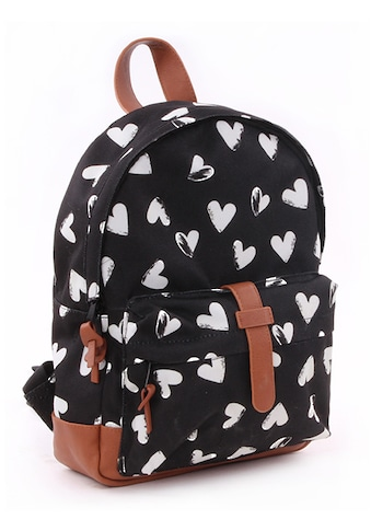 Kidzroom Kinderrucksack »Black & White, Hearts« kaufen