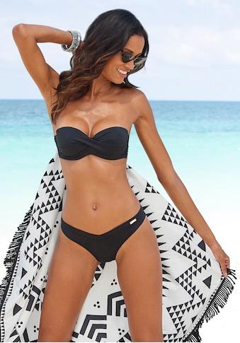 LASCANA Bikini-Hose »Italy«, Hoher Beinausschnitt kaufen