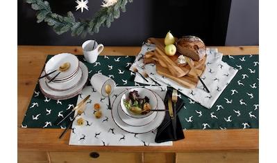 Tischläufer, »Sprunghirsch«, HOSSNER  -  HOMECOLLECTION (1 - tlg.) kaufen