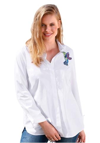 Anna Aura Hemdbluse »mit Hemdkragen«, und Knopf kaufen