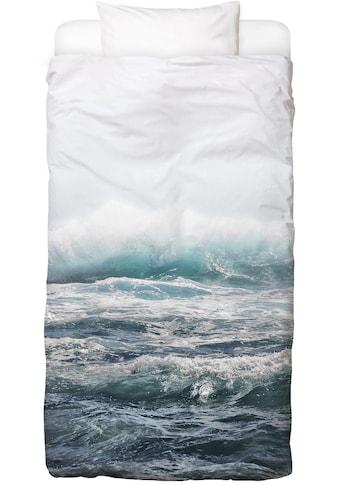 Juniqe Bettwäsche »Big Splash Hawaii«, In vielen weiteren Designs erhältlich kaufen