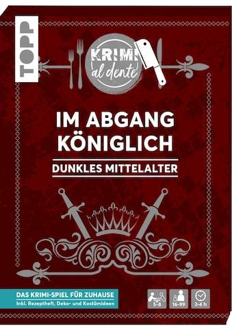 Buch »Krimi al dente - Dunkles Mittelalter - Im Abgang königlich / Illina Grünwald,... kaufen