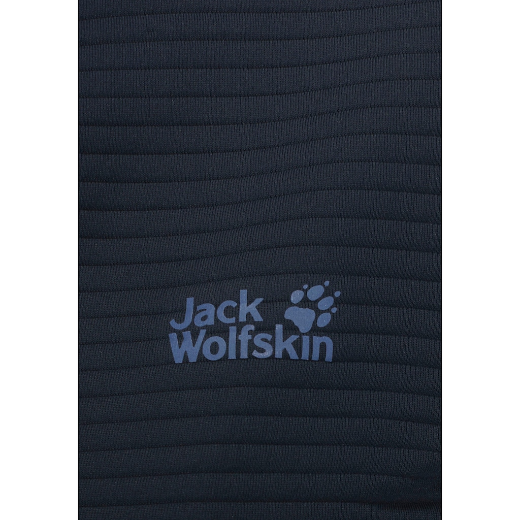 Jack Wolfskin Fleecejacke »MODESTO«, geruchshemmend & antibakteriell