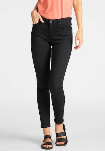 Lee® Skinny-fit-Jeans »Scarlett«, in Black Rinse kaufen