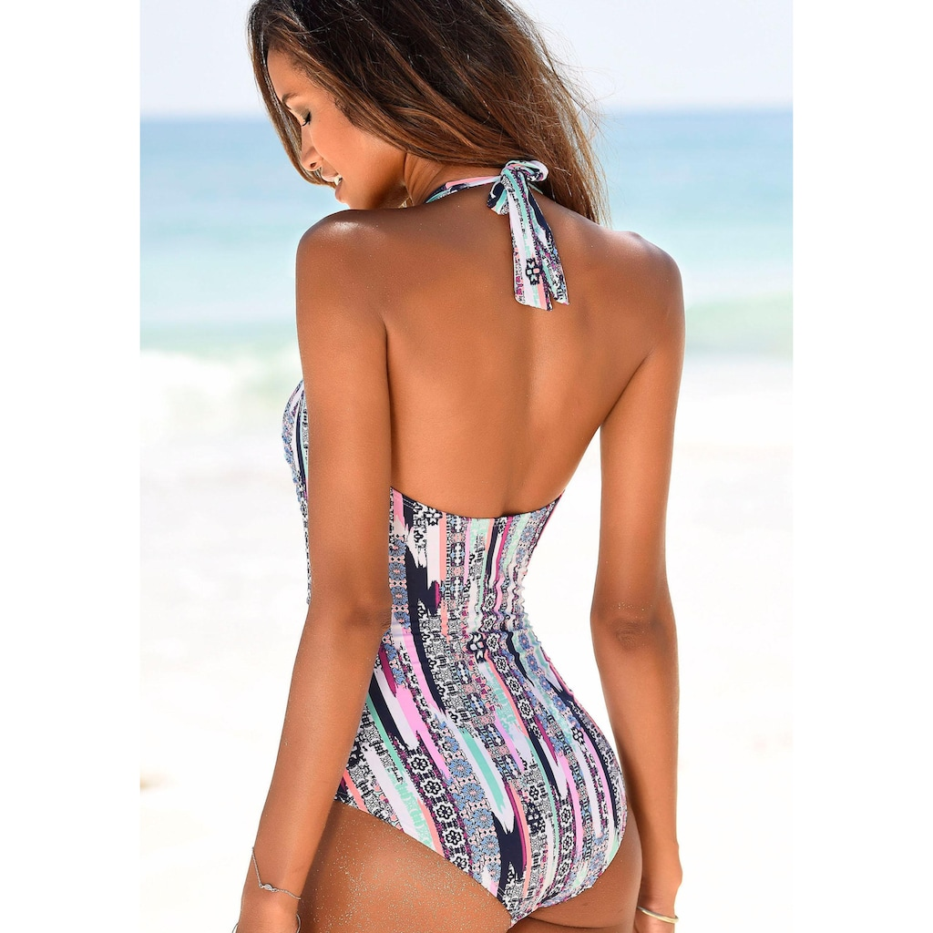 s.Oliver Beachwear Badeanzug, mit Shaping-Einsatz