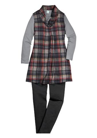 Classic Basics Shirttunika mit mehrfarbigem Karo - Muster kaufen