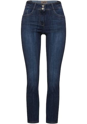 Cecil Slim-fit-Jeans »Style Toronto«, mit leichtem Used-Effekt kaufen