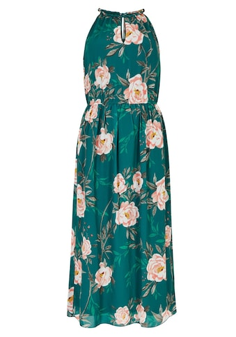 Apricot Chiffonkleid »Peony Print Rope Neck Midi Dress« kaufen