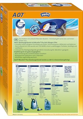 Swirl Staubsaugerbeutel »A 07 für AEG«, (Packung, 5 St.) kaufen