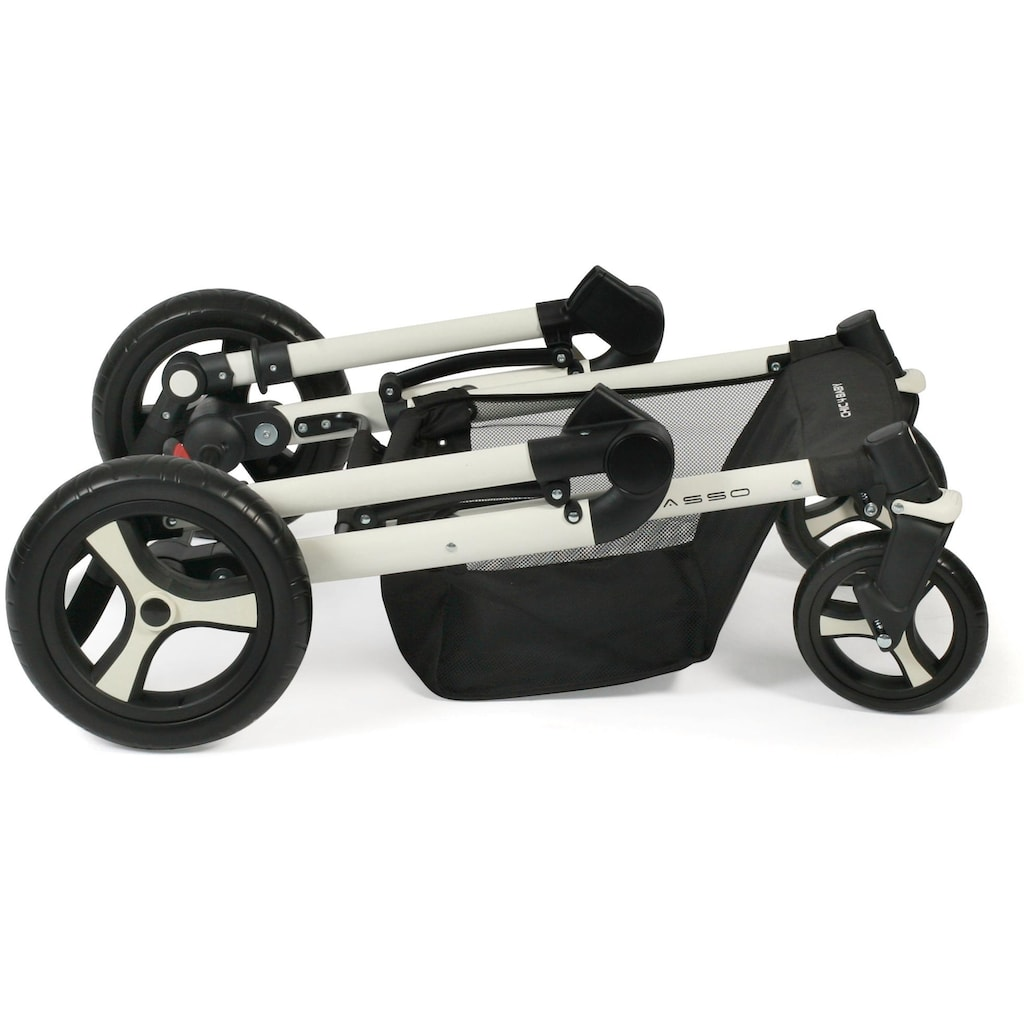 CHIC4BABY Kombi-Kinderwagen »Passo, mint«, 15 kg