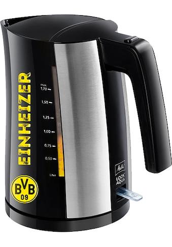 Melitta Wasserkocher »Look® Aqua BVB- Edition«, 1,7 l, 2400 W kaufen