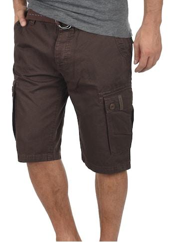 Solid Cargoshorts »Valongo«, (mit abnehmbarem Gürtel), kurze Hose mit Gürtel kaufen