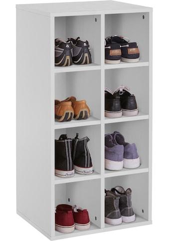 INOSIGN Schuhregal »Fricka«, mit einer schönen Holzfolien Optik, Stauraum für ca. 16 Paar Schuhe, Höhe 84,5 cm kaufen