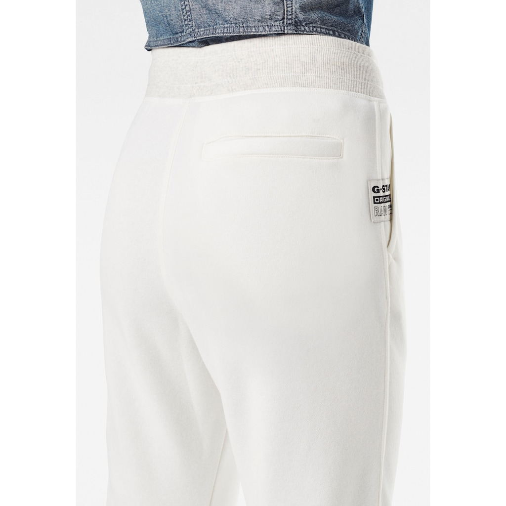 G-Star RAW Sweatpants »Premium Core 3D Tapered Sweatpants«, 3D Jogginghose mit abgerundeter Designlinie am Knöchel