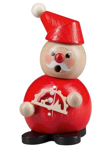 SAICO Original Weihnachtsfigur, Räucherfigur Weihnachtsmann mit Lichterbogen kaufen