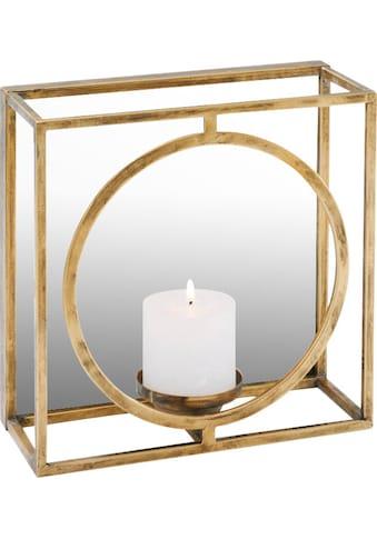 Schneider Wandkerzenhalter, Kerzen-Wandleuchter, Kerzenhalter, Kerzenleuchter hängend, Wanddeko, mit Spiegel kaufen