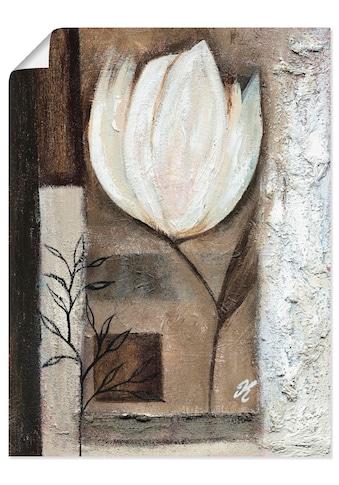 Artland Wandbild »Braune Tulpen I«, Blumen, (1 St.), in vielen Größen & Produktarten... kaufen