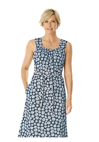 Kleid mit hübschem Margariten - Druck kaufen