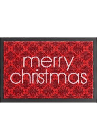 HANSE Home Fußmatte »Merry Christmas«, rechteckig, 7 mm Höhe, Schmutzfangmatte,... kaufen