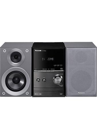 Panasonic Kompaktanlage »SC-PM602 Micro-«, Bluetooth, UKW Radio-Digitaluhr-Display mit... kaufen