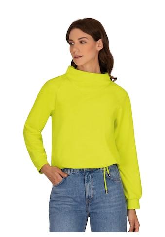 Trigema Sweatshirt, mit modischem Kragen kaufen