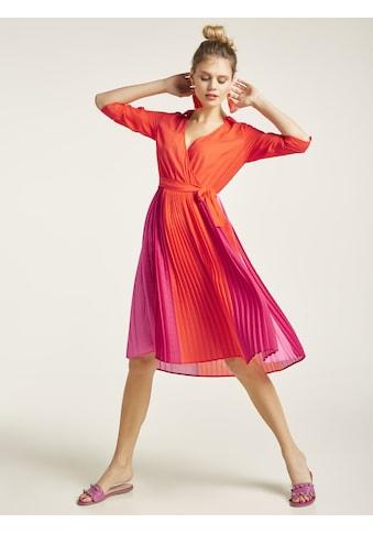 Kleid mit plissiertem Rockteil kaufen
